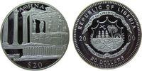 Liberia 20 Dollars Ag Athen