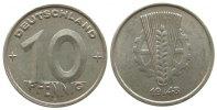 DDR 10 Pfennig Al A, Berlin, etwas fleckig