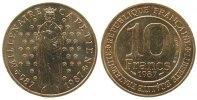 Frankreich 10 Francs NiMs Hugo Capet, Schön 254