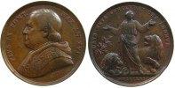 Vatikan Medaille Bronze Pius IX (1846-1878), AN XVI, gegen die Feinde des Kirchenstaates, v. C. V