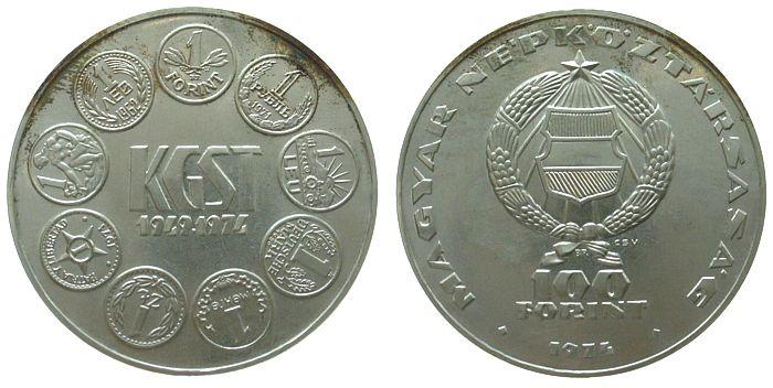 100 Forint 1974 Ungarn Ag Gegenseitige Wirtschaftshilfe KGST unz