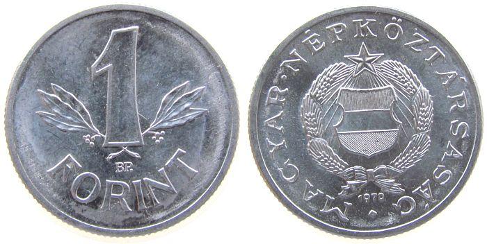 1 Forint 1970 Ungarn Al unz