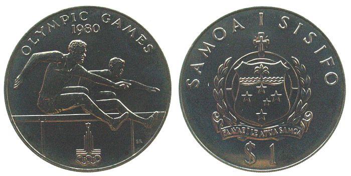 1 Tala 1980 West Samoa KN Olympische Spiele, Hürdenläufer unz