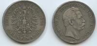 Hessen 5 Mark M#2004 - Ludwig III.1848 - 1877
