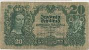 Banknote Österreich 20 Schilling M#6001