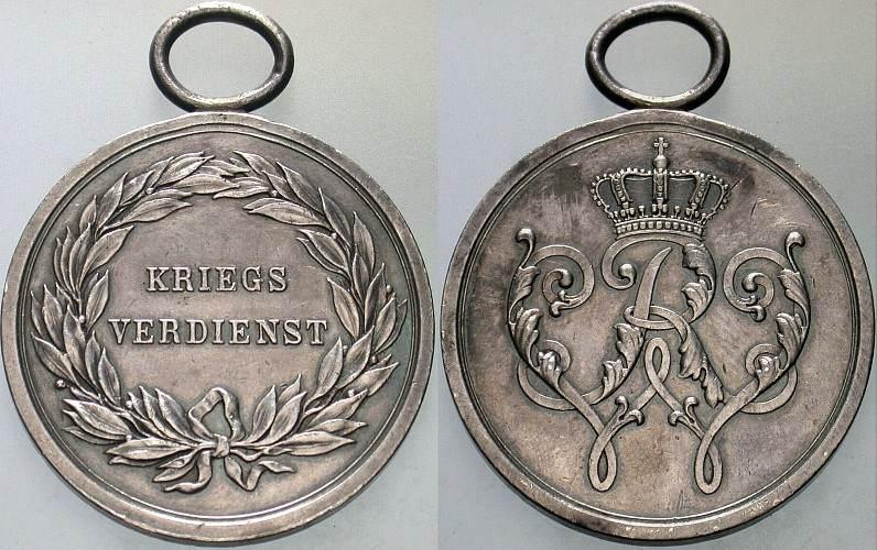 Brandenburg-Preußen Militär-Ehrenzeichen 2. Klasse 1864-1866 Wilhelm I.  1861-1888. Sehr schön - vorzüglich | MA-Shops