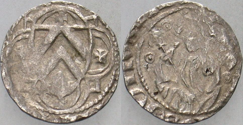 Pfennig 1360-1397 Bielefeld Ravensberg Wilhelm der Ältere, 1360-1397 Sehr schön