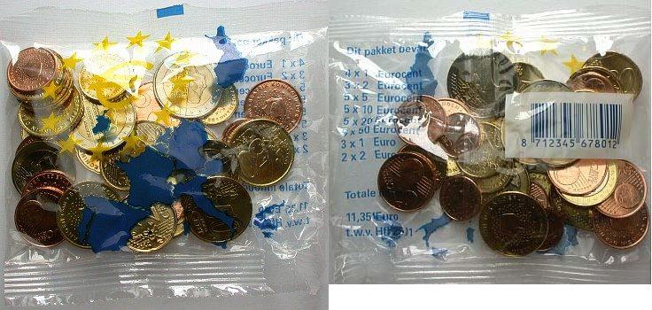 Starterkit, 11,35 Euro 2002 Niederlande Bankfrisch