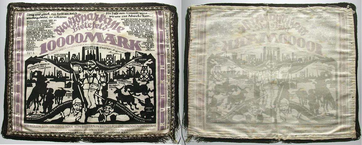 10.000 Mark 15.2.1923 Bielefeld Fast kassenfrisch