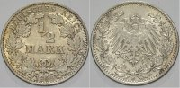 Kleinmünzen 1/2 Mark