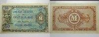 Banknoten nach Rosenberg 10 Mark Deutschland unter alliierter Besetzung 1945-1948