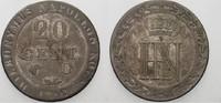 Westfalen, Königreich 20 Centimes Hieronymus Napoleon 1807-1813.
