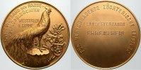 Landwirtschaft Vergoldete Bronzemedaille