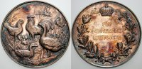 Brandenburg-Preußen Silbermedaille Wilhelm I. 1861-1888.