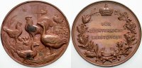 Brandenburg-Preußen Bronzemedaille Wilhelm I. 1861-1888.