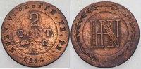 Westfalen, Königreich 2 Centimes Hieronymus Napoleon 1807-1813.