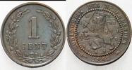 Niederlande-Königreich 1 Cent Wilhelmina I. 1890-1948.