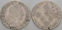 Frankreich 10 Sols (1/8 Ecu) Ludwig XIV. 1643-1715.