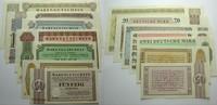 Das Papiernotgeld von Westfalen Serie von 7 Scheinen 50Pf.,1,2,5,10,20+5 Vorstände der Anstalten Bethel,Sarepta,Nazareth