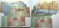Das Papiernotgeld von Westfalen Serie von 7 Scheinen 50 Cent.,1,2,5,10,2 Vorstände der Anstalten Bethel,Sarepta,Nazareth
