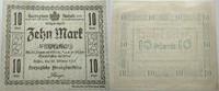 Das Papiergeld der deutschen Länder 10 Mark Herzogliche Finanzdirektion, Dessau