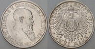 2 Mark 1901 D Sachsen-Meiningen Georg II. ...