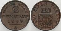 Preußen 2 Pfennige Wilhelm I. 1861-1888