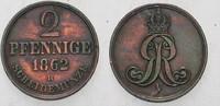 Hannover 2 Pfennige Georg V. 1851-1866.