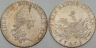 Brandenburg-Preußen Taler 1779 A Patina, kl. Schrö