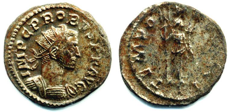 Antoninian Römisches Kaiserreich Probus (276-282) ss-vz, Silbersud