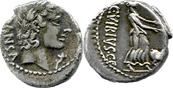 Denar 90 v. Chr. Römische Republik C. Vibius C. f. Pansa ss-vz