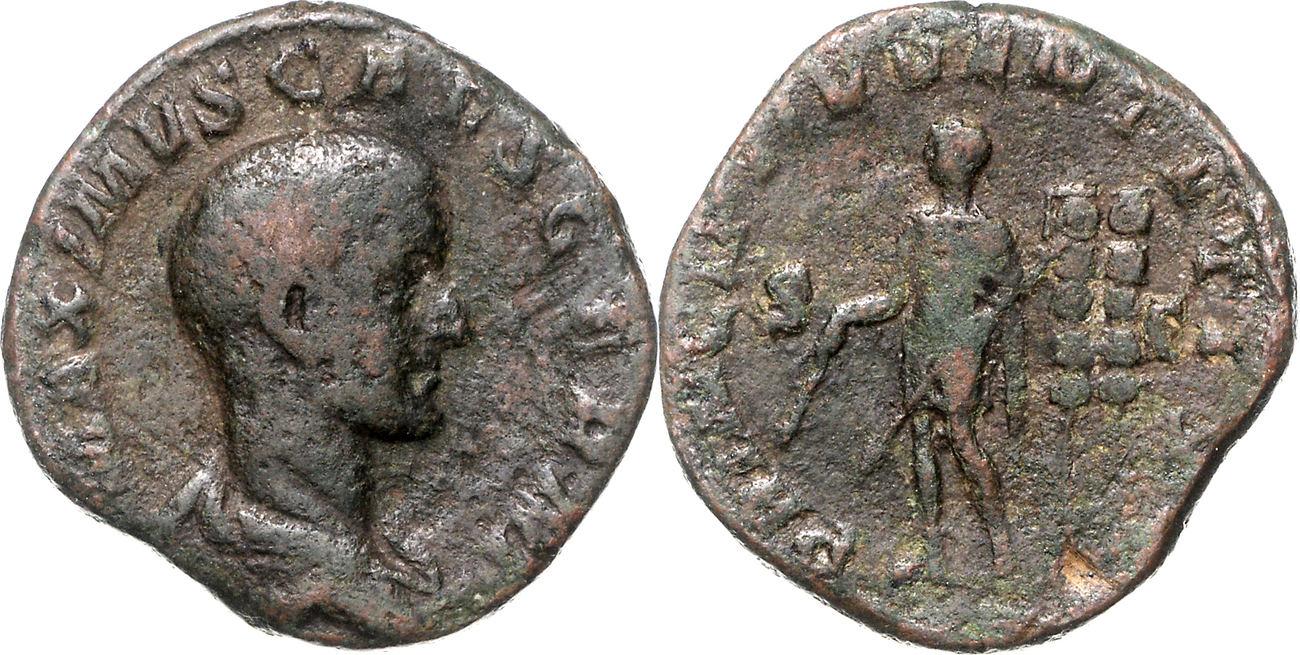 Sesterz Römisches Kaiserreich Maximus, Caesar (235-238), Sohn des Maximinus I. Thrax ss-