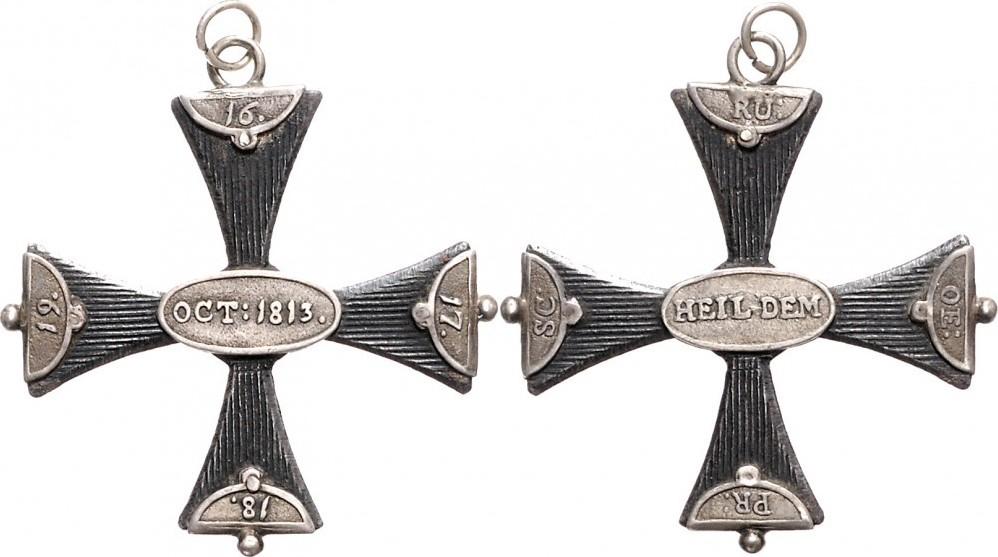 Ehrenkreuz 1813 NAPOLEON UND SEINE ZEIT Befreiungskriege / Völkerschlacht bei Leipzig vz-