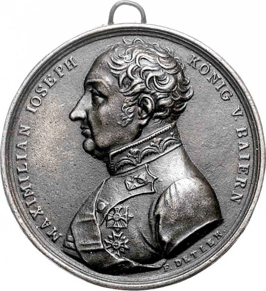 Eisengussmedaille o.J. (1815) NAPOLEON UND SEINE ZEIT Befreiungskriege / Wiener Kongress vz