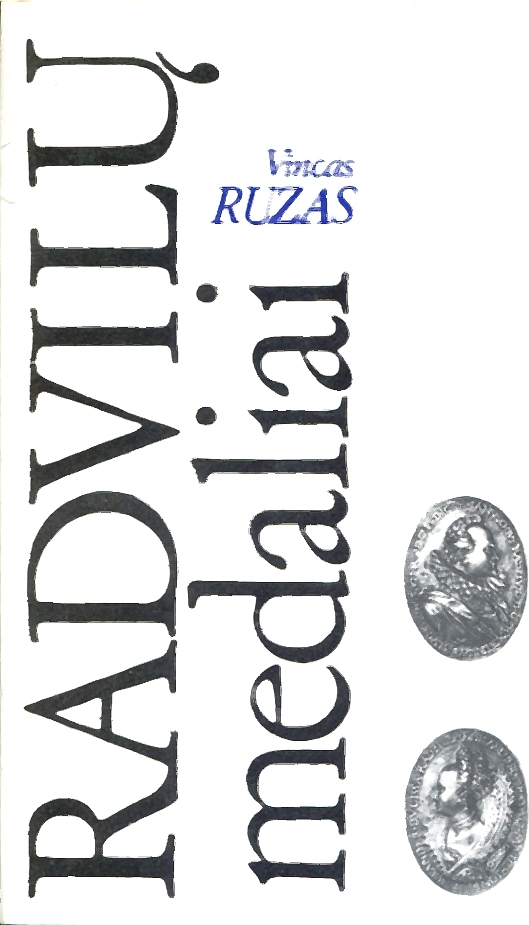 Katalog Litauen Vincas Ruzas: Radvilu medaliai (Medaillen der Familie Radziwill) leicht gebraucht