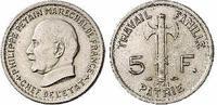 FRANKREICH 5 Francs Vichy-Regierung (1940-1944)