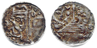Lüttich, Bistum Pfennig Rudolph von Zähringen (1167-1191)