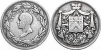 NAPOLEON UND SEINE ZEIT Silbermedaille Die Sieger bei Waterloo / Barclay de Tolly
