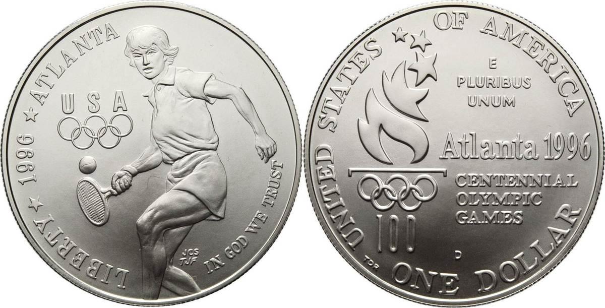 Dollar 1996. Vereinigte Staaten von Amerika Stempelglanz