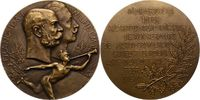 Brandenburg-Preußen Bronzemedaille Wilhelm II. 1888-1918.