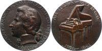 Musiker Bronzegussmedaille Mozart, Wolfgang Amadeus *1756 Salzburg, +1791 Wien.