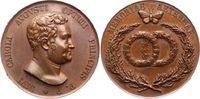 Sachsen-Weimar-Eisenach Bronzemedaille Carl August 1775-1828.