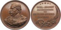 Sachsen-Weimar-Eisenach Bronzemedaille Carl Alexander 1853-1901.