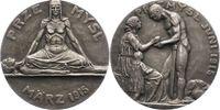 Erster Weltkrieg Silbermedaille Allgemeine Propaganda
