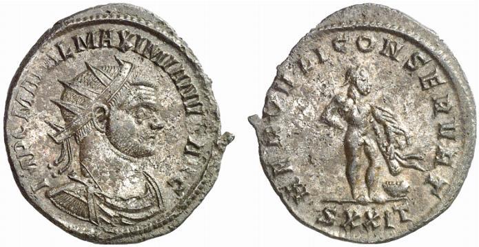 Antoninian ROMAN COINS - MAXIMIANUS HERCULIUS, 286-305 Vorzüglich