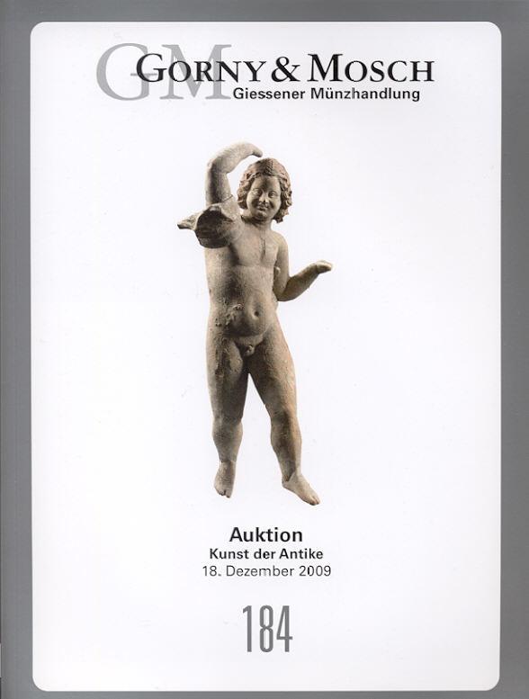 2009 ANCIENT ART - GORNY & MOSCH 184, 2009 - KUNST DER ANTIKE Druckfrisch