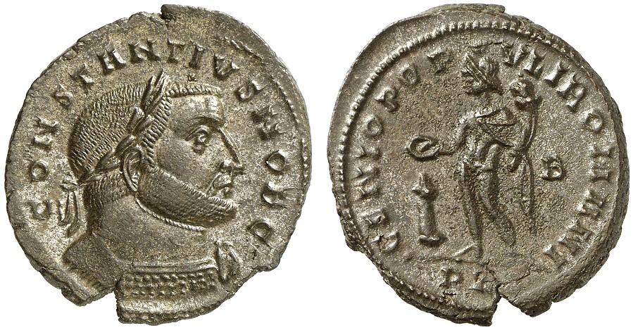 Nummus ROMAN COINS - CONSTANTIUS CHLORUS, Caesar 293-305 Vorzüglich