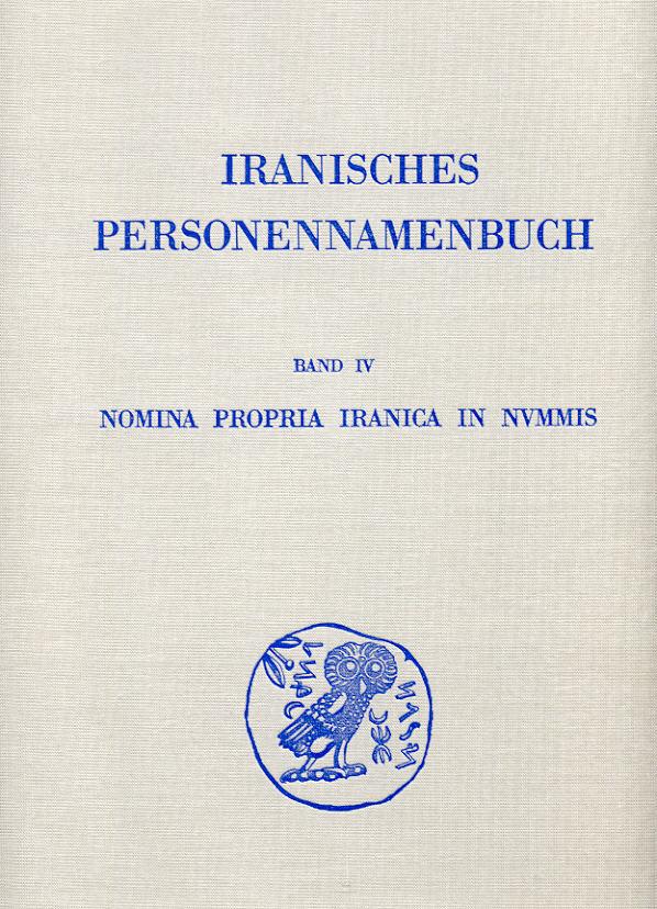 1986 ANCIENT COINS - ALRAM - NOMINA PROPRIA IRANICA IN NVMMIS NEU