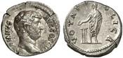 Denar  ROMAN COINS - HADRIANUS, 117-138 Sehr schön