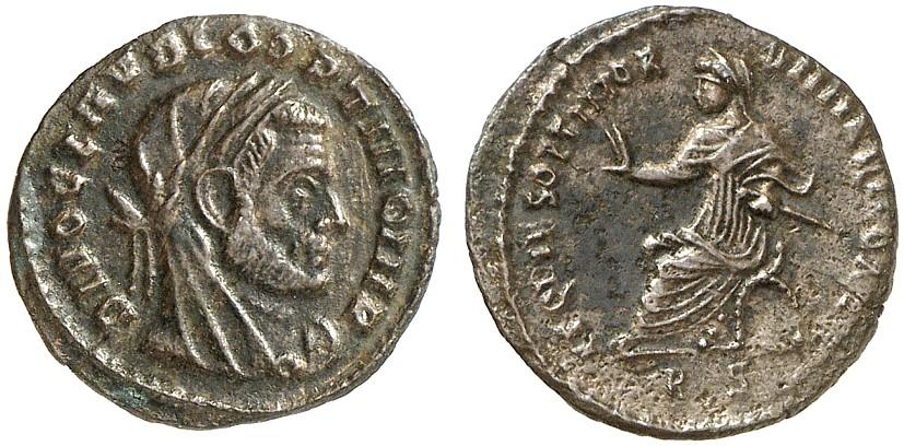 1/4 Nummus ROMAN COINS - DIVUS CLAUDIUS GOTHICUS Sehr schön